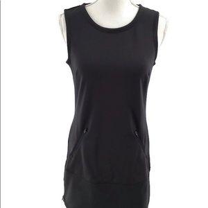 Athleta Gray Pullover Tennis Dress Sleeveless XS